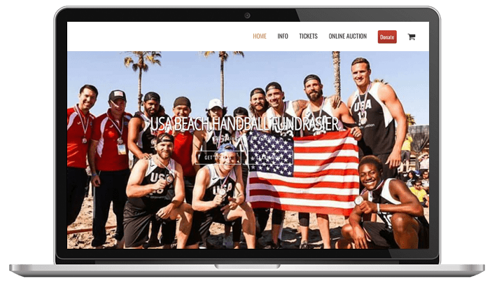 Cause events usa beach handball fundraiser
